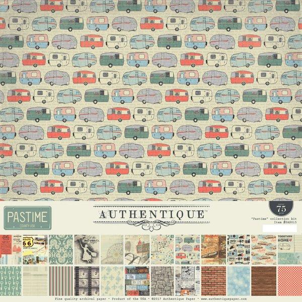 Authentique - Pasttime Collection Kit