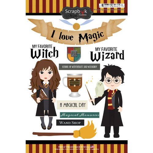 Scrapbook Customs-Wizarding World Sticker