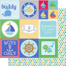 Anchors Aweigh: Buoy o' Buoy 12x12