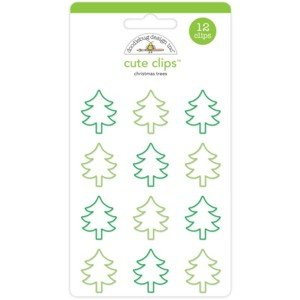 Christmas Trees Cute Clips