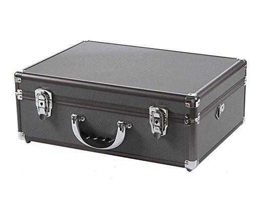 Aluminum Case w/Shoulder Strap