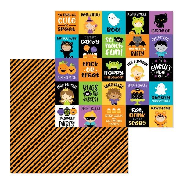 Doodlebug Designs Pumpkin Party 12x12 - fun house