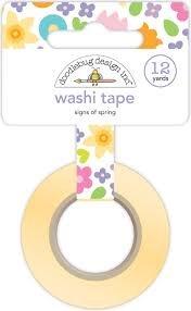 Doodlebug - Signs Of Spring Washi Tape 12yds