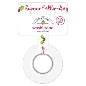 Doodlebug - Happy Holly-Days Washi Tape