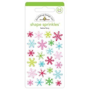 Doodlebug - Festive Flurry Shape Sprinkles