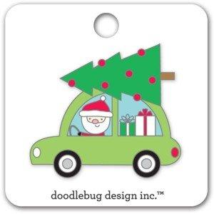 Doodlebug - Here Comes Santa Collectible Pin