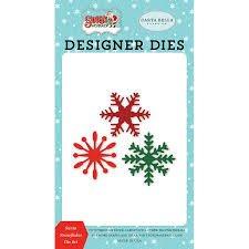 Carta Bella - Santa Snowflakes Die Set