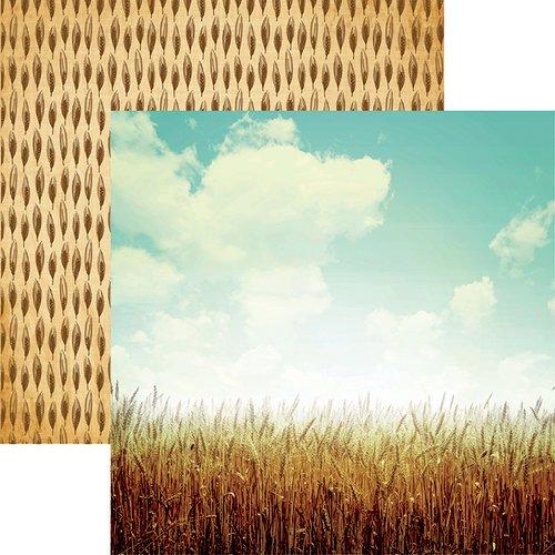 Reminisce - Farm Fresh Wheat Fields 12x12 Paper