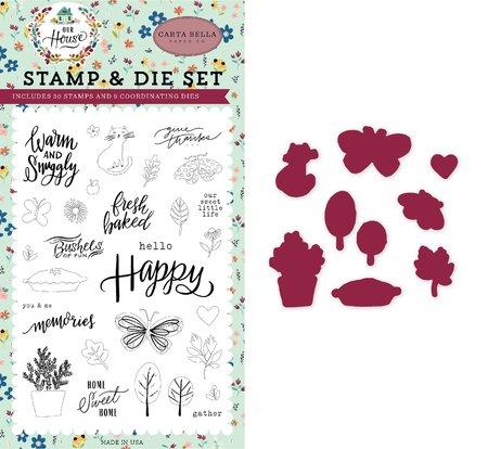 Carta Bella - Sweet Little Life Die & Stamp Set