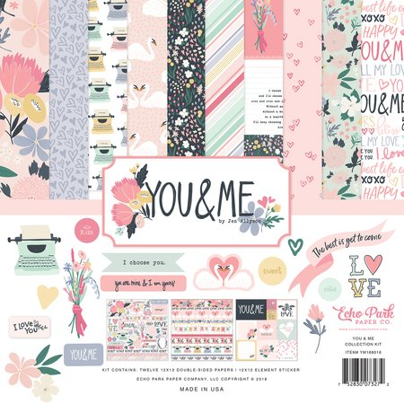 Echo Park - you & Me Collection Kit