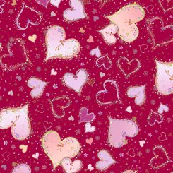 Quilting Treasures - With Love 1649-26889-R
