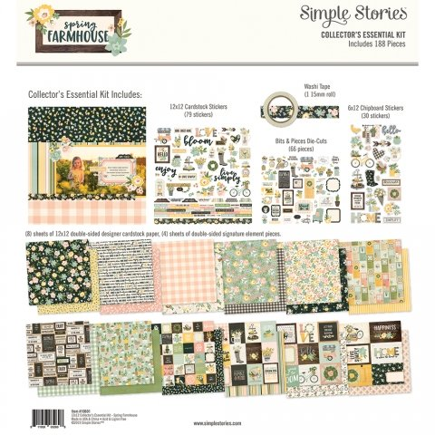 Simple Stories - Spring Farmhouse Collector's Essential Kit