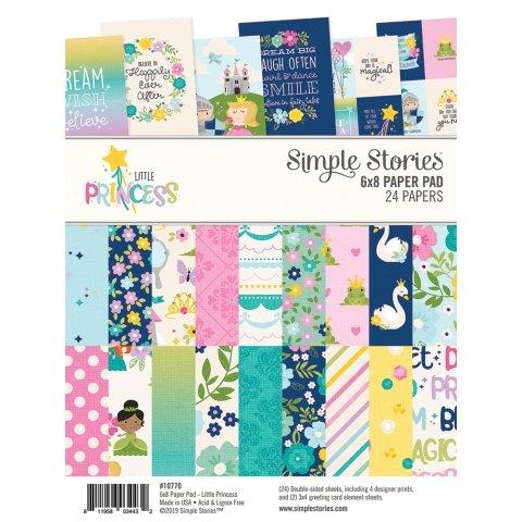 Simple Stories - Little Princess 6x8 Paper Pad