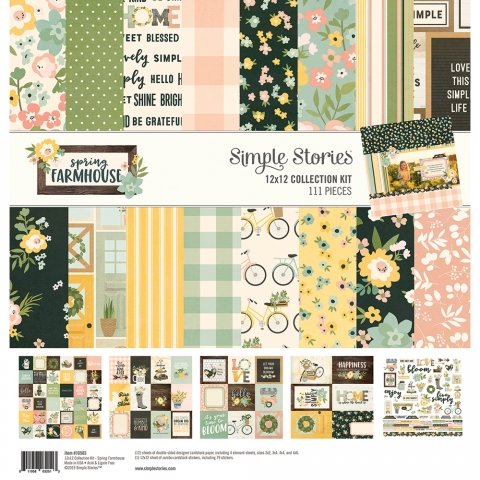 Simple Stories - Spring Farmhouse 12x12 Collection Kit