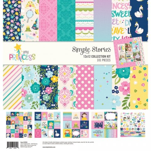 Simple Stories - Little Princess 12x12 Collection Kit