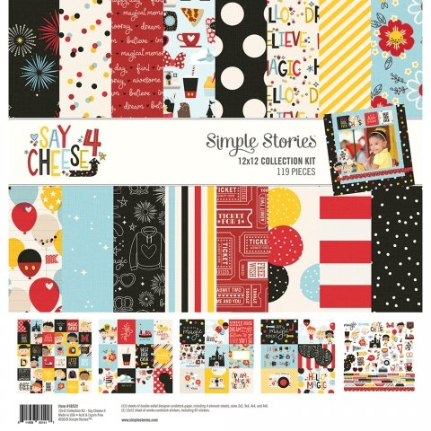 Simple Stories - Say Cheese 4 12x12 Collection Kit