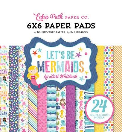 Echo Park-Let's Be Mermaids 6x6 Pad
