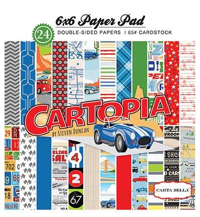 Carta Bella-Cartopia: 6x6 Paper Pad