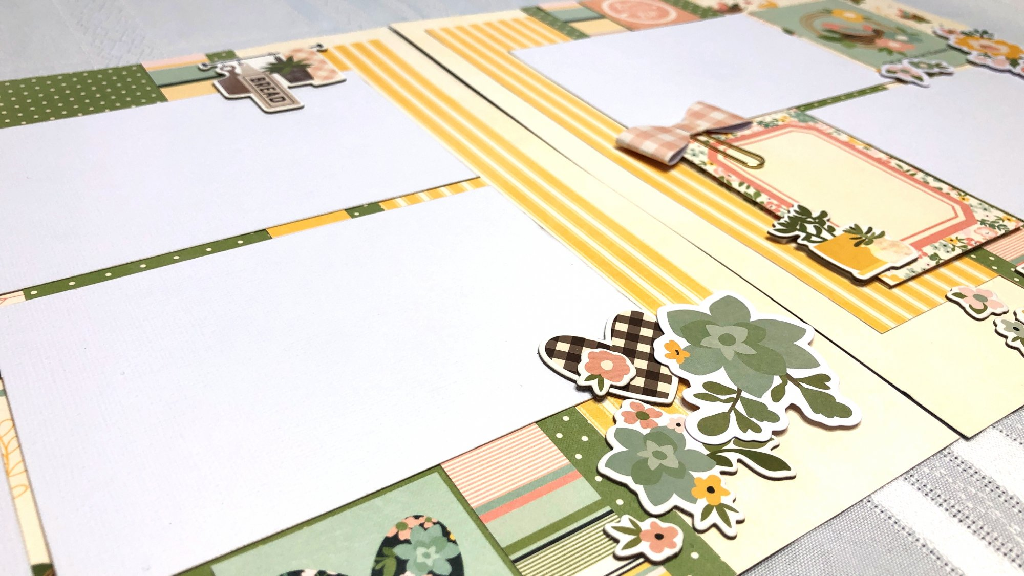 Simple Stories: Spring Farmhouse Layouts Class Kit