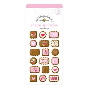 Doodlebug - Chocolate Box Shape Sprinkles