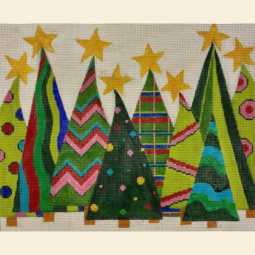 Crazy Christmas Trees