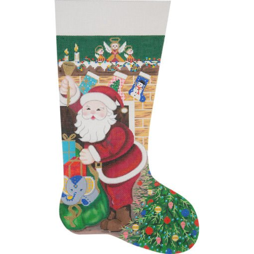 Twas the Night Before Christmas Stocking