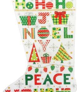 Christmas Words Stocking