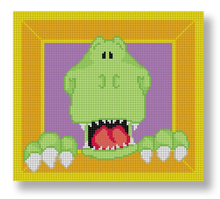Green Dinosaur Monster