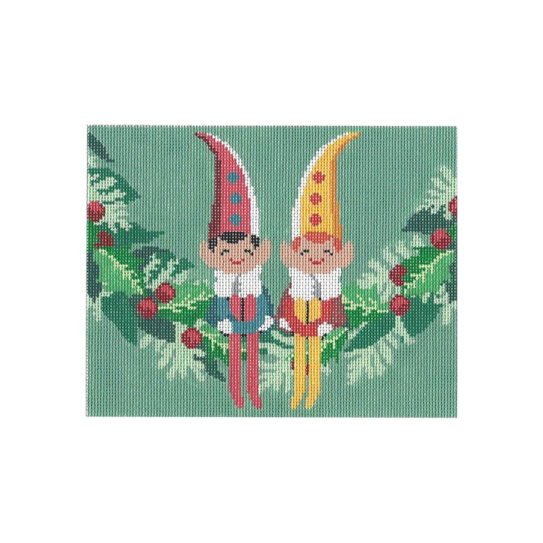 Elves on Garland
