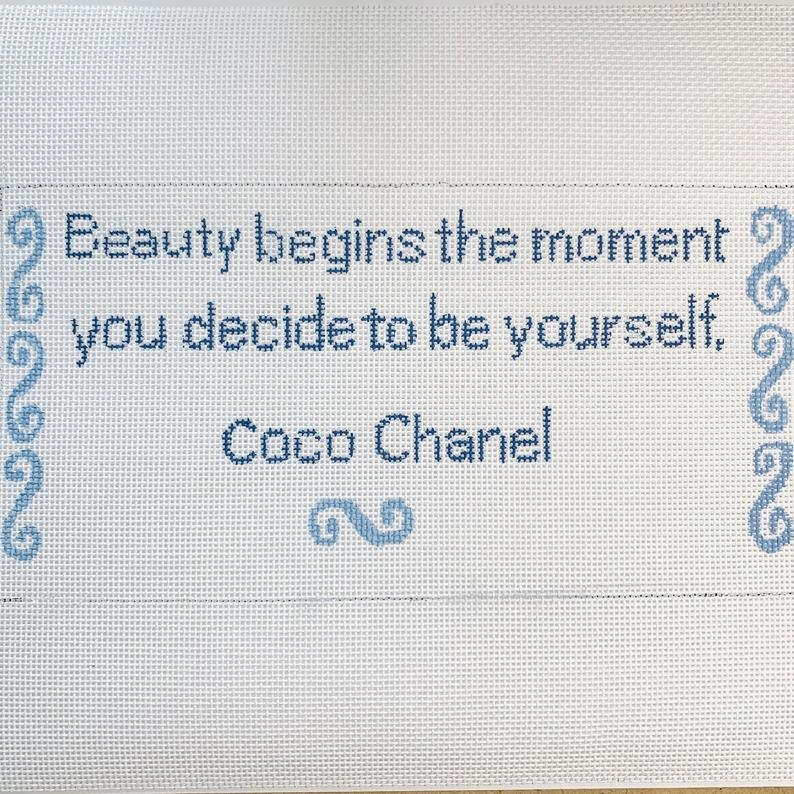 Beauty Begins - Coco Chanel