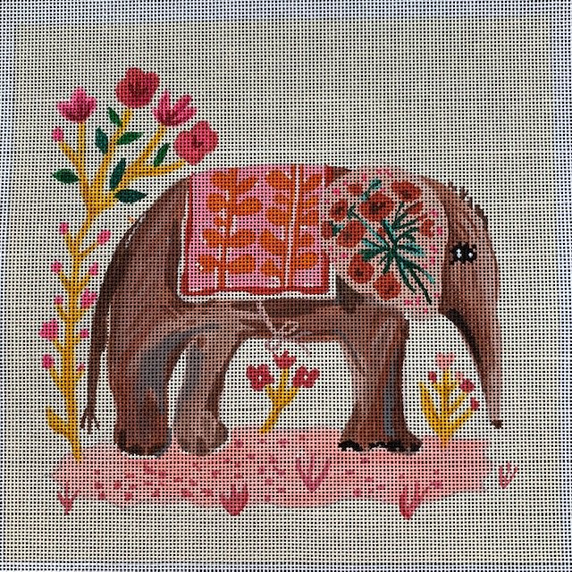 Elephant with Pink