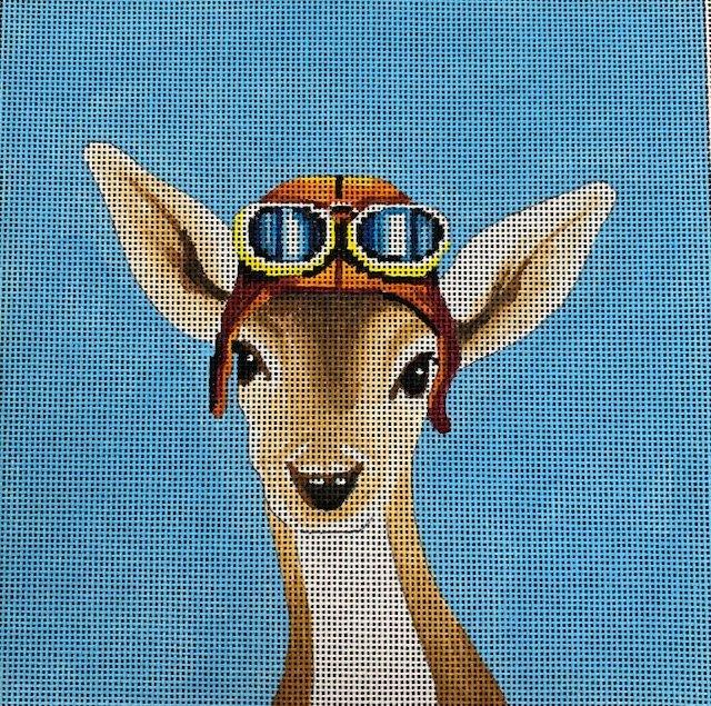 Kangaroo with Aviator Glasses