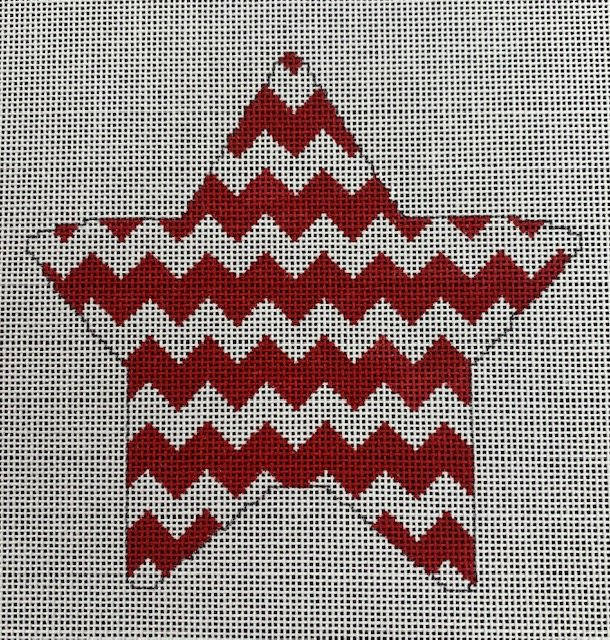 Red Chevron Star