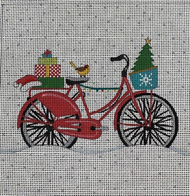 Christmas Bike with Gifts