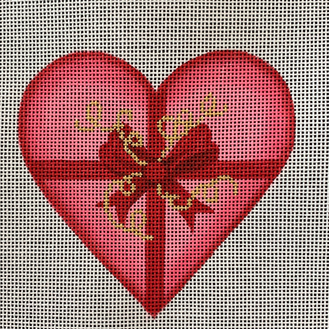 Valentines Mini Heart with Ribbons *