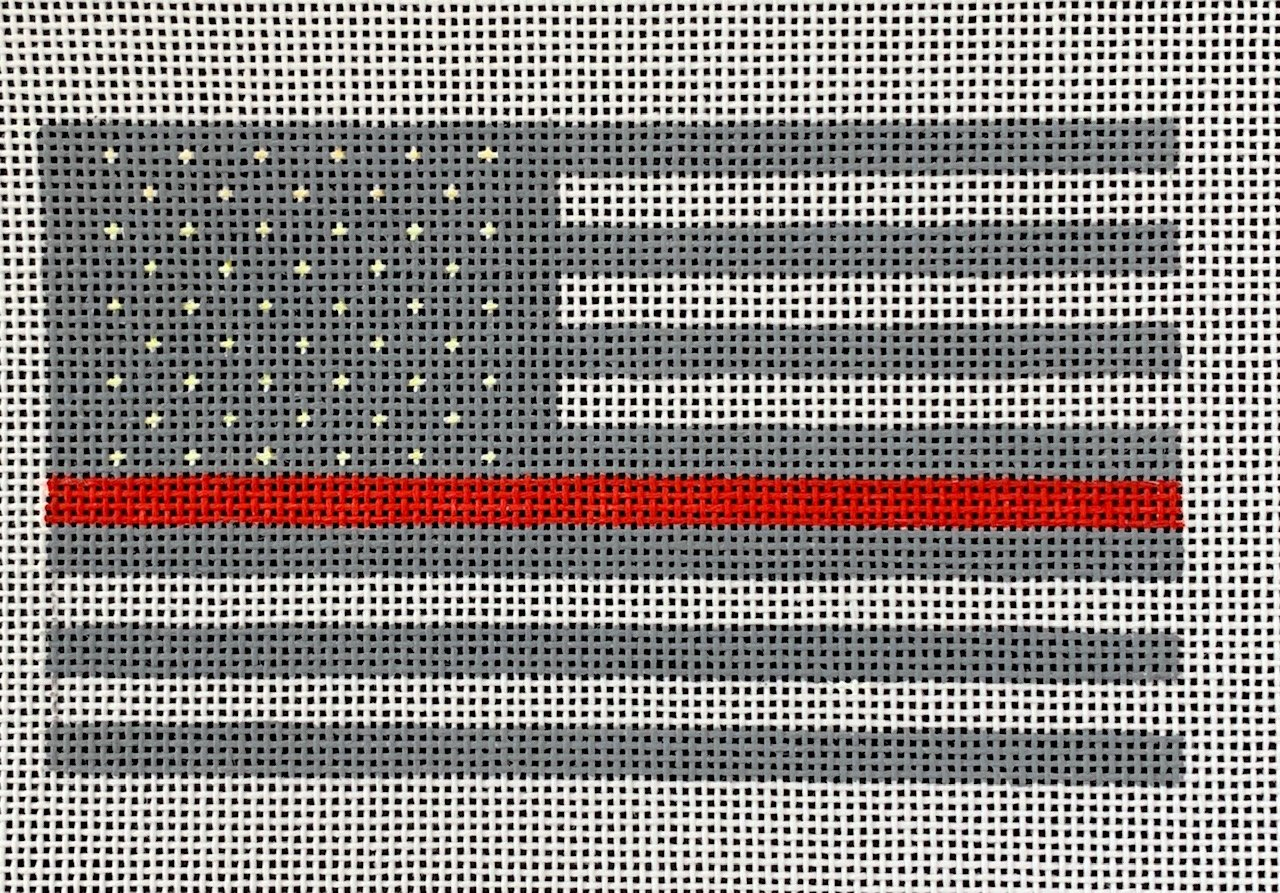 First Responder Flag  - Red