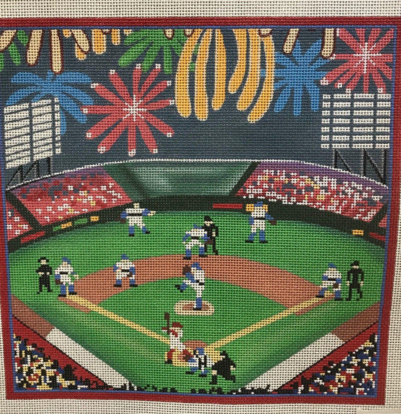 Stadium Baseball Game - Amanda Lawford