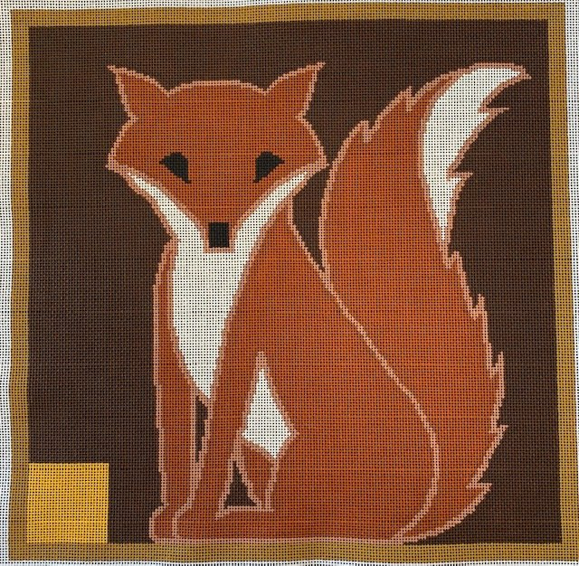 Fox with Border