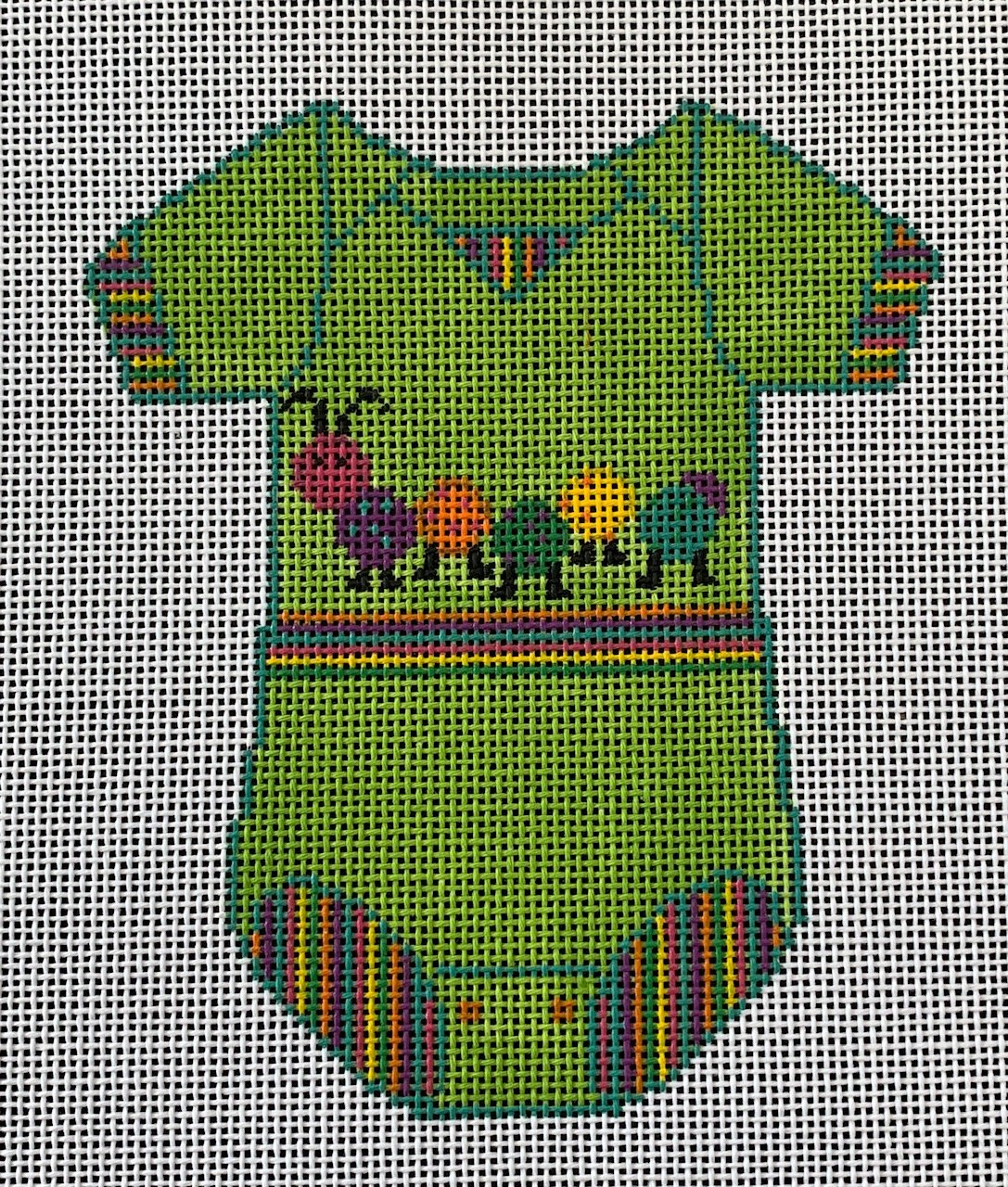 Baby Onesie with Catepillar