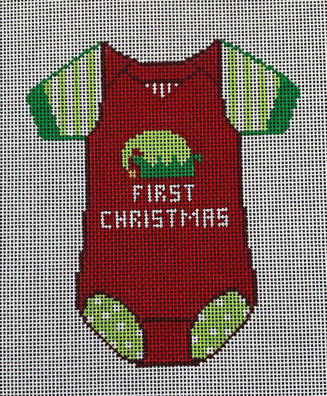 Baby Onesie 1st Christmas