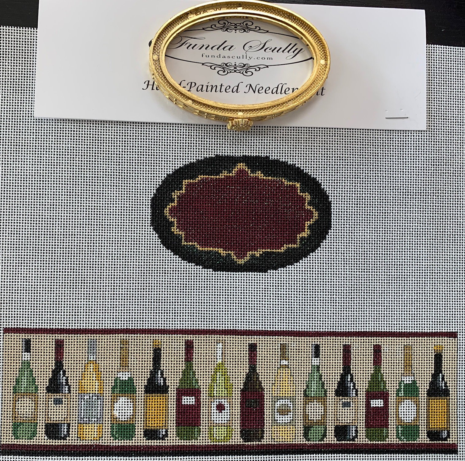 Wine Bottles Hinged Box