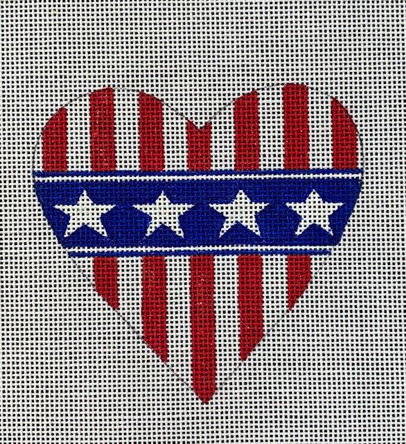 Patriotic Mini Heart