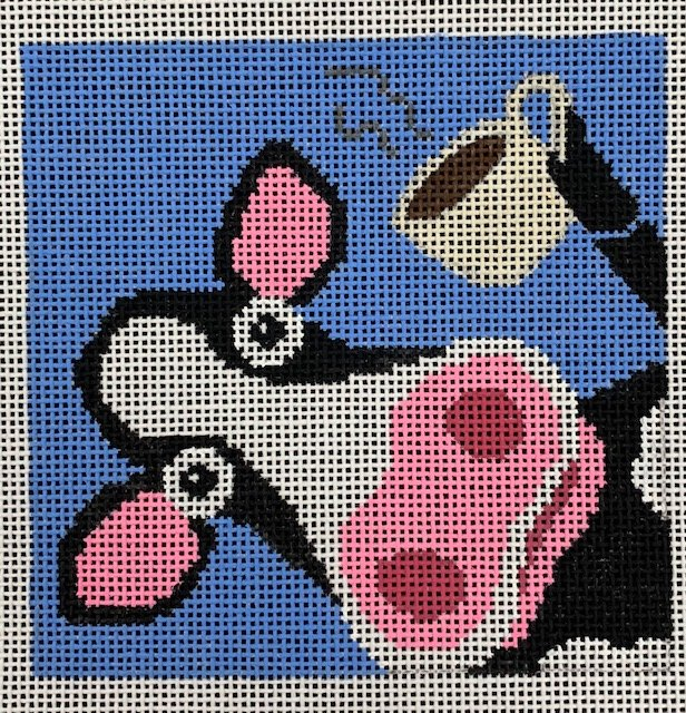 Cow with Coffee Coaster