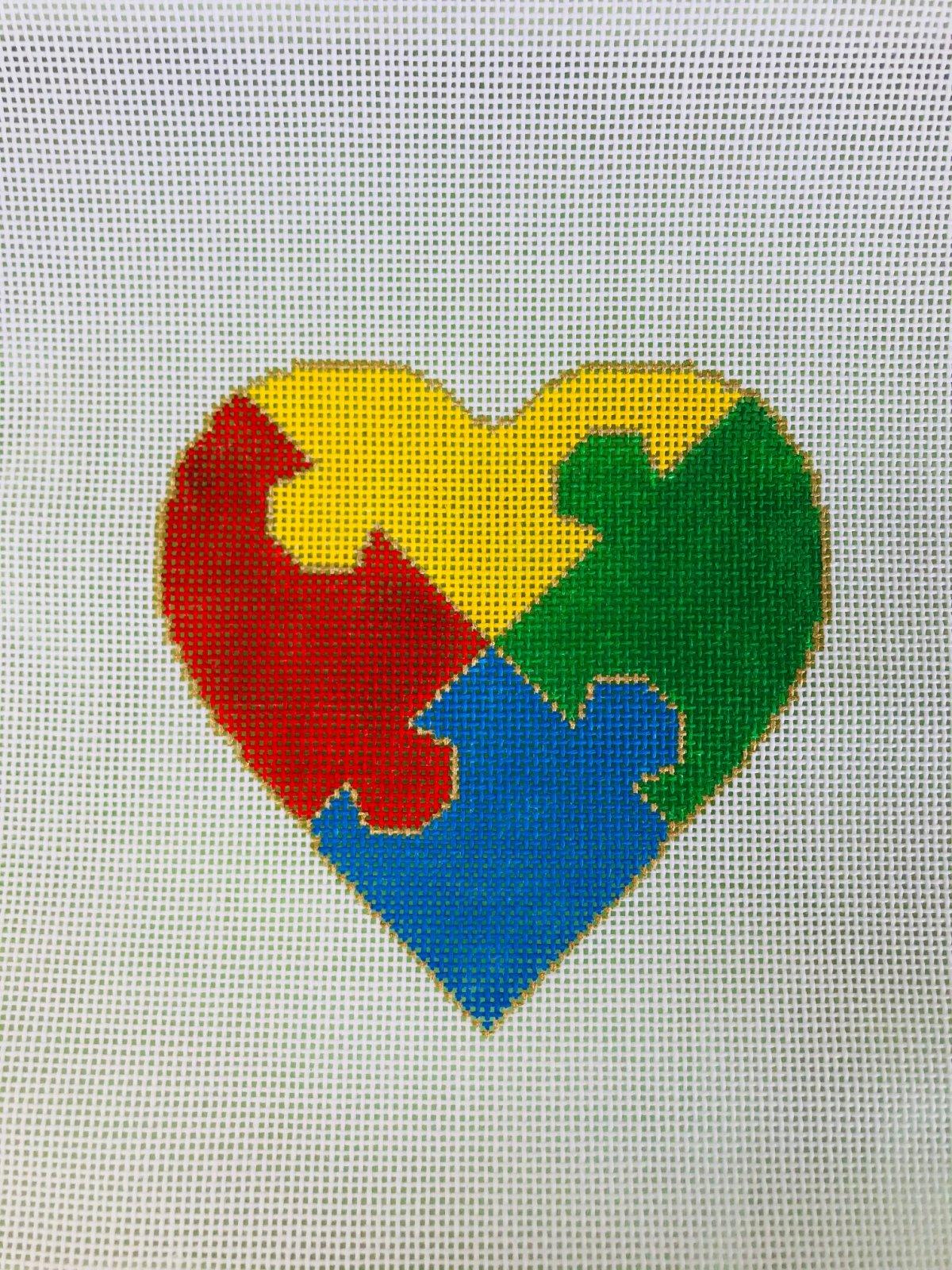 Autism Puzzle Heart