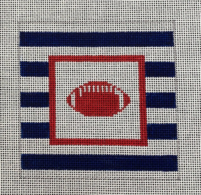 Football Stripe Coaster