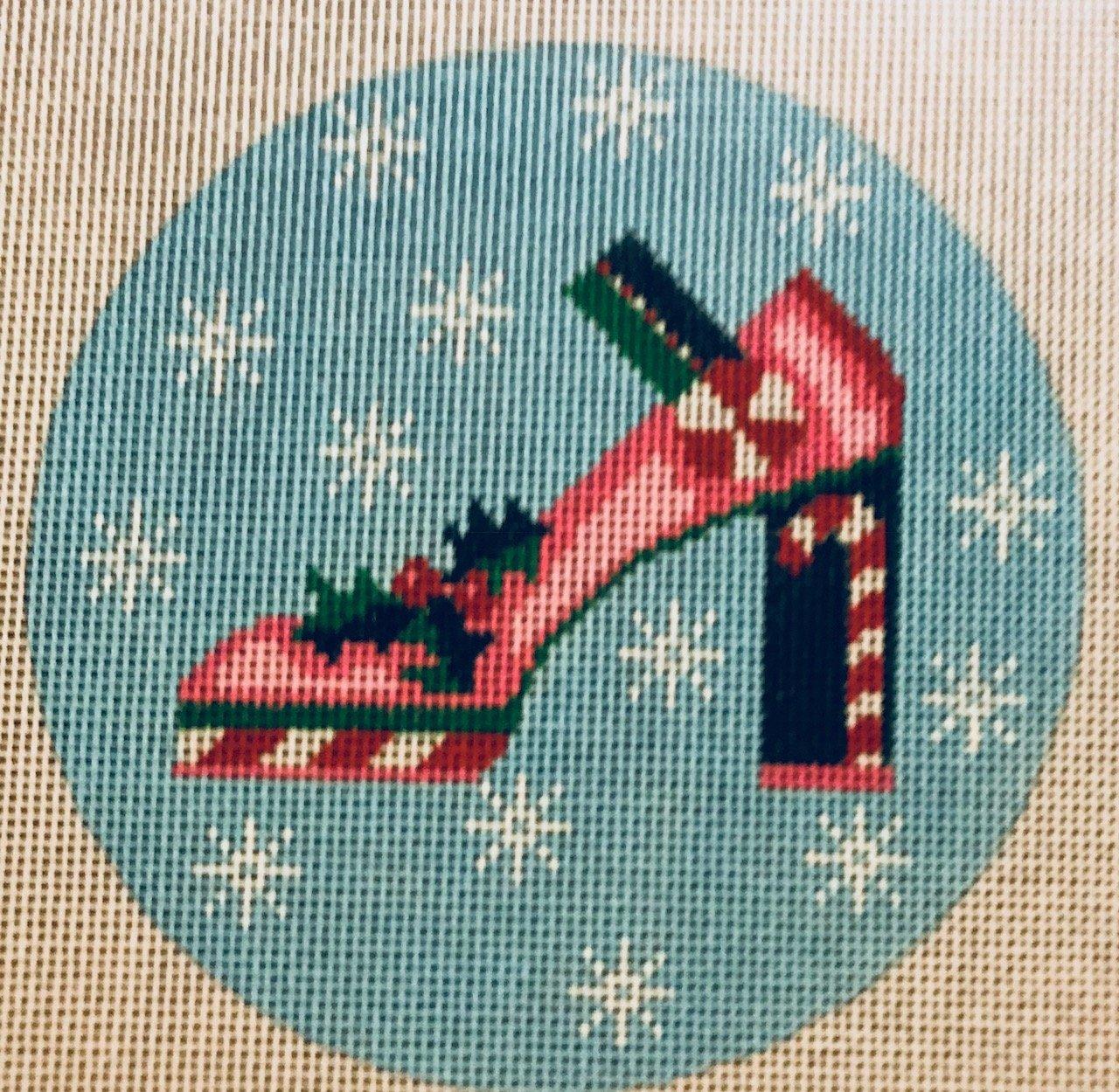 Christmas High Heeled Mary Jane