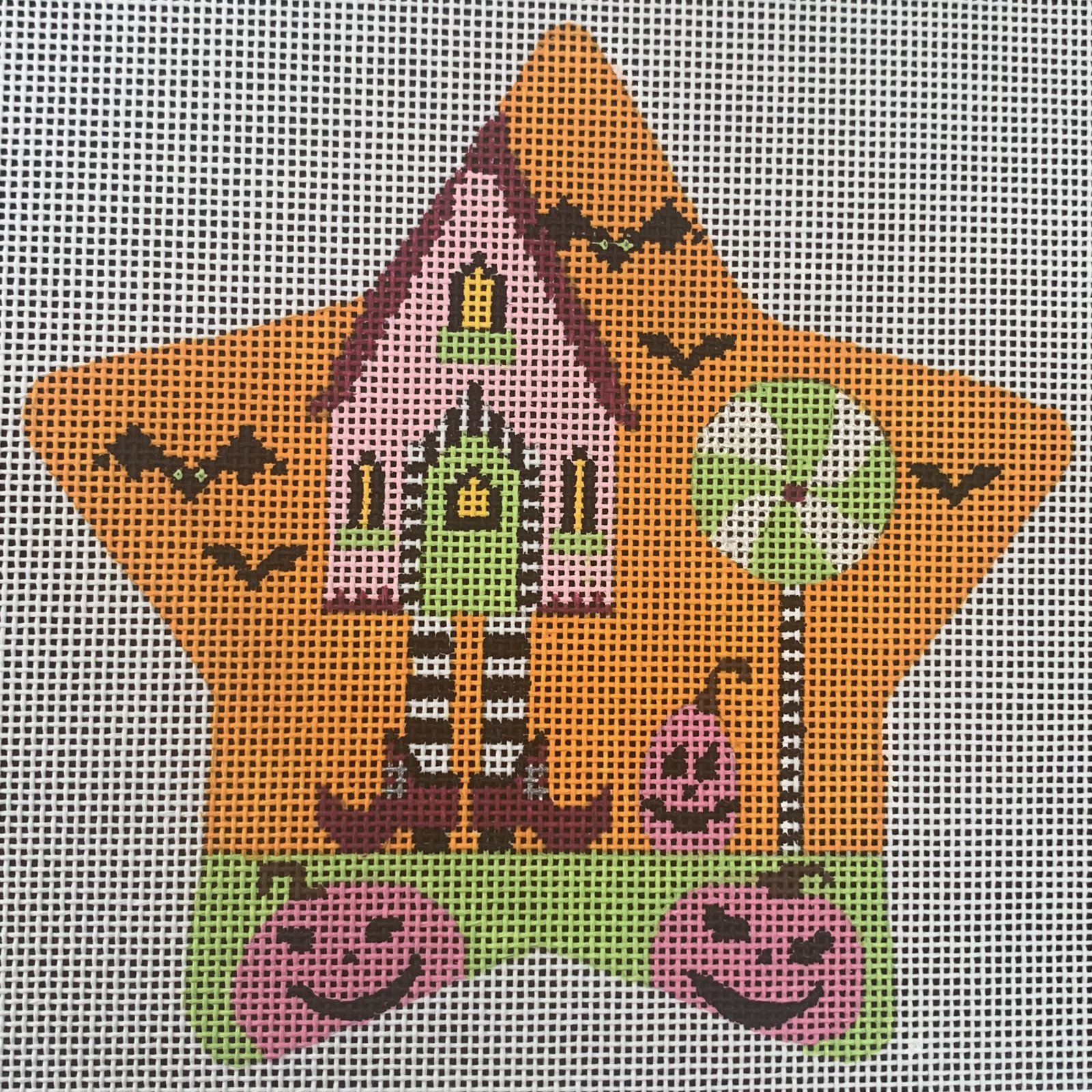 Spooky Star - Witch House with Stitch Guide