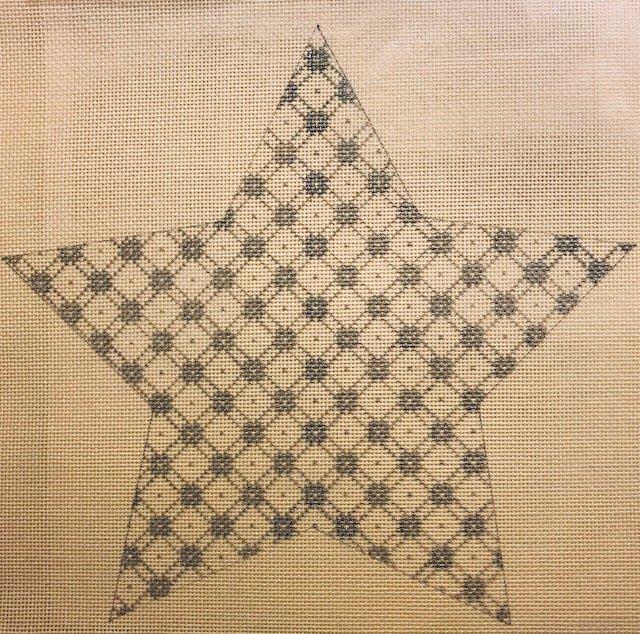 10 Star - Jessie's  Star w/stitch guide