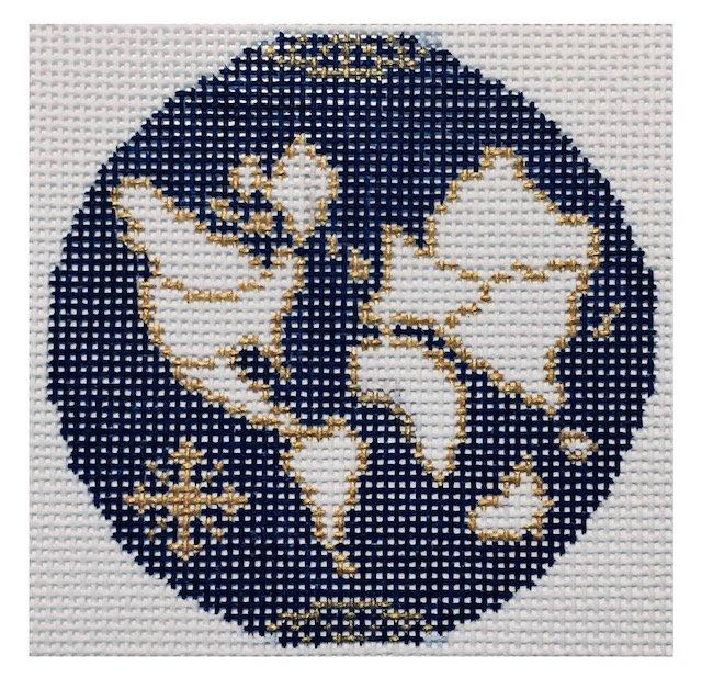 Atlas Round - Blue 18m