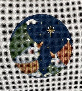 Star Wish Snowman Ornament
